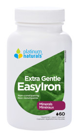 Platinum Naturals EasyIron EG Extra Gentle (60 veg caps)