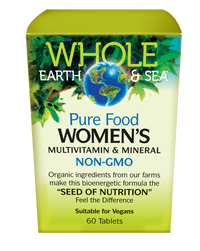 Whole Earth & Sea Women's Multivitamin & Mineral (60 tabs)