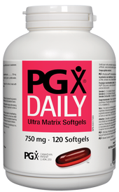 Natural Factors PGX Daily Ultra Matrix 750mg (120 softgels)