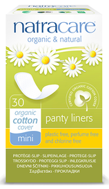 Natracare Mini Panty Liners (30 pack)
