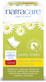 Natracare Normal Panty Liners (18 pack)