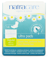 Natracare Ultra Pads Regular with Wings (14 pack)