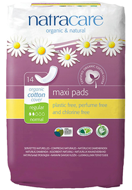 Natracare Maxi Pads Regular (14 pack)