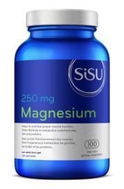 SISU Magnesium 250mg (100 veg caps)