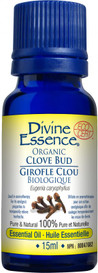 Divine Essence Clove Bud Organic (15 ml)