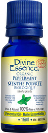 Divine Essence Peppermint Organic (15 ml)