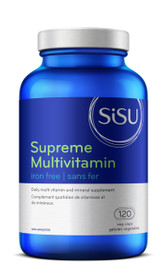 SISU Supreme Multivitamin Iron Free (120 veg caps)