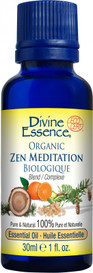 Divine Essence Zen Meditation Organic (30 ml)