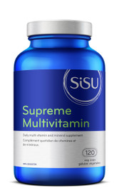 SISU Supreme Multivitamin with Iron (120 veg caps)