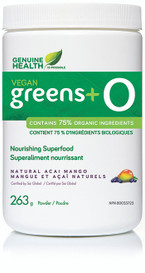 Genuine Health Vegan Greens+ O Acai Mango (263 g)