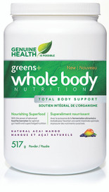 Genuine Health Greens+ Whole Body Nutrition Acai Mango (517 g)