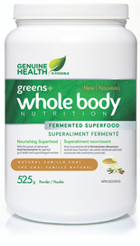 Genuine Health Greens+ Whole Body Nutrition Vanilla Chai (525 g)