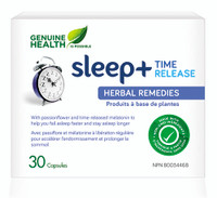 Genuine Health sleep+ time release (30 caps)