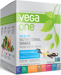 Vega One Nutritional Shake French Vanilla (10 x 38g)