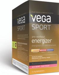 Vega Sport Pre Workout Energizer Acai Berry (12 x 18g)