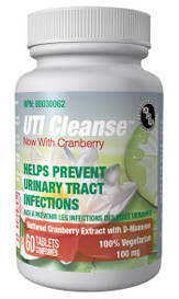 AOR UTI Cleanse Now with Cranberry (60 tabs)