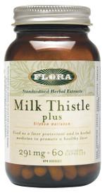 Flora Milk Thistle plus (60 veg caps)