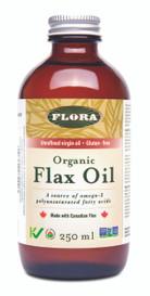 Flora Organic Flax Oil (250 mL)