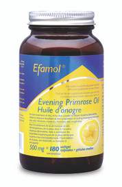 Efamol Evening Primrose Oil 500mg (180 softgel caps)