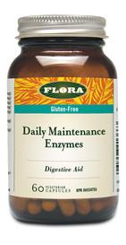 Flora Daily Maintenance Enzyme (60 veg caps)