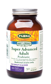 Udo's Choice Super Advanced Adult's Probiotic (30 veg caps)