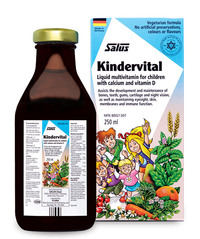 Salus Kindervital Multivitamin for Children (Choose Liquid Size)