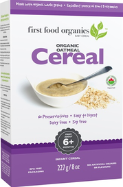 First Food Organics Oatmeal Cereal (227 g)