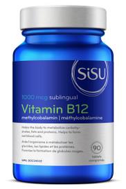 SISU B12 Methylcobalamin 1000 mcg (90 tabs)