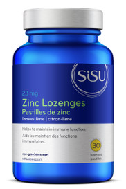 SISU Zinc Lozenges Lemon-Lime (30 lozenges)
