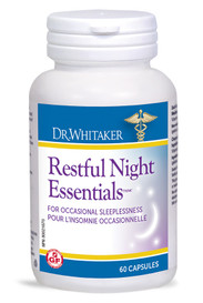 Dr. Whitaker Restful Night Essentials (60 caps)