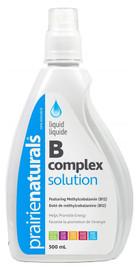 Prairie Naturals Liquid B Complex Solution (500 mL)