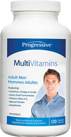 Progressive MultiVitamins for Adult Men (120 caps)