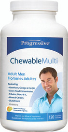Progressive Chewable Multi for Adult Men (60 tabs)