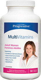Progressive MultiVitamins for Adult Women (60 veg caps)