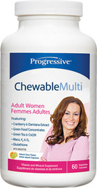 Progressive Chewable Multi for Adult Women (60 tabs)