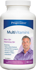 Progressive MultiVitamins for Men 50 and over (60 caps)