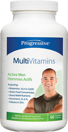 Progressive MultiVitamins for Active Men (60 veg caps)
