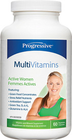 Progressive MultiVitamins for Active Women (60 veg caps)