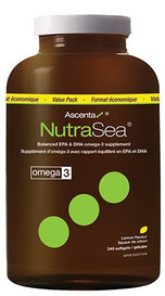 Ascenta NutraSea Lemon (240 softgels)