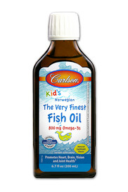 Carlson Kid's The Very Finest Fish Oil Lemon (200 mL)