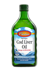 Carlson Cod Liver Oil Unflavoured (250 mL)
