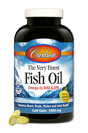 Carlson The Very Finest Fish Oil Lemon (120 + 30 softgels)