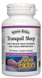 Natural Factors Tranquil Sleep (90 softgels)