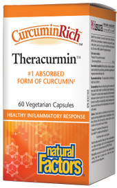 Natural Factors CurcuminRich Theracurmin (60 veg caps)