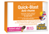 Natural Factors Echinamide Quick-Blast (30 chewable softgels)