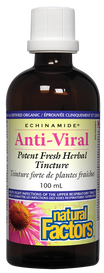 Natural Factors Anti-Viral Fresh Herbal Tincture (100 mL)