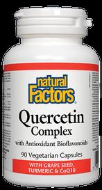 Natural Factors Quercetin Complex (90 veg caps)