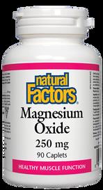 Natural Factors Magnesium Oxide (90 caplets)