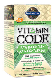 Garden of Life Vitamin Code Raw B-Complex (60 veg caps)