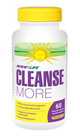 Renew Life CleanseMORE (Choose Veg Cap Size)